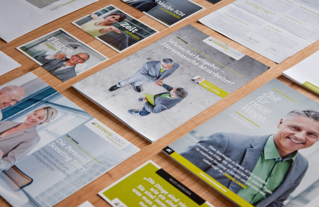 Careers Lounge | Print Publikationen